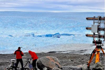 UAS glacier study