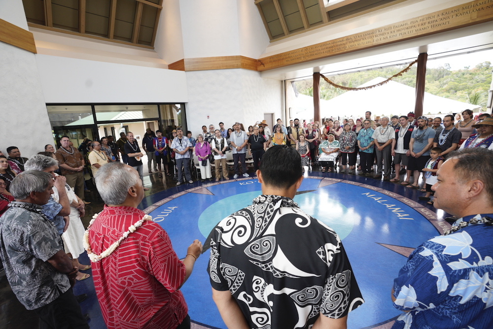 Ho'oilina Conference Welcome on May 28, photo courtesy of Jacob Chinn