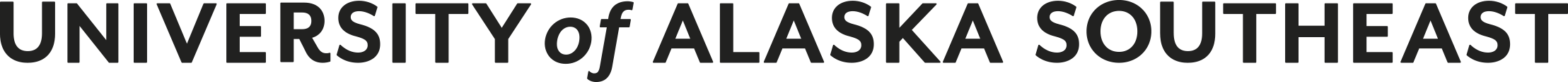 Text-only Horizontal black and white logo