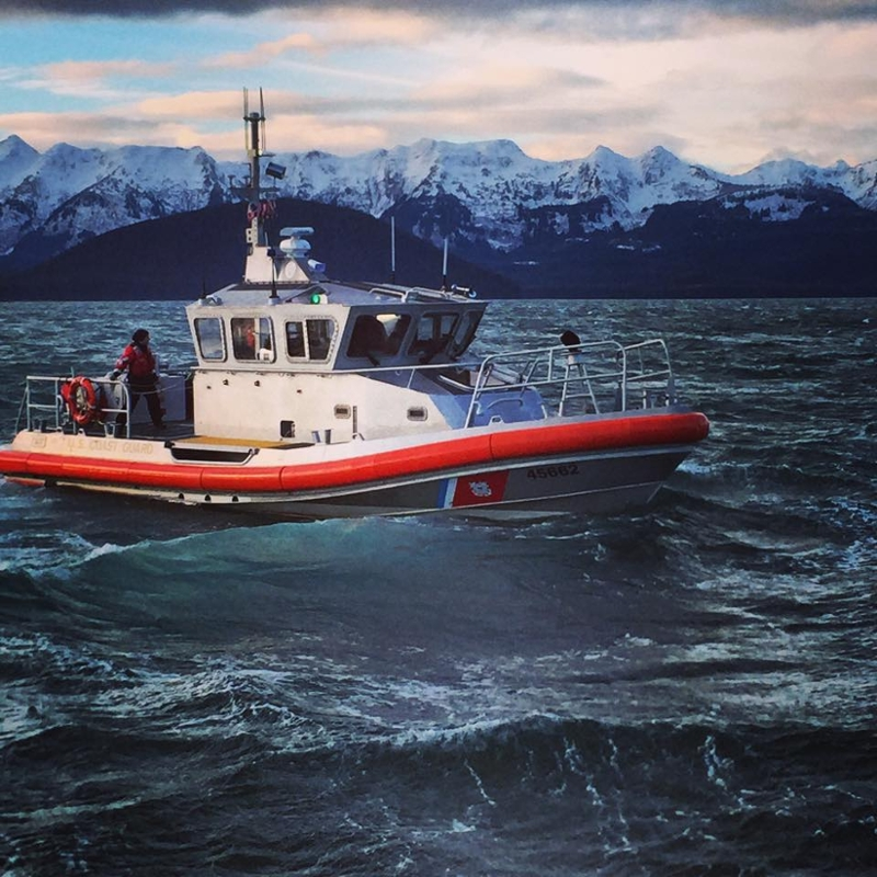 picture of a coast guard boat on the water