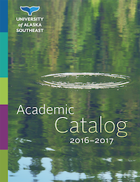2016-2017 Academic Catalog cover