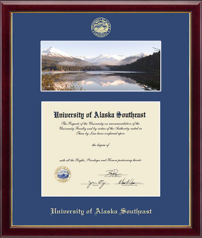 Sample Diploma Frame