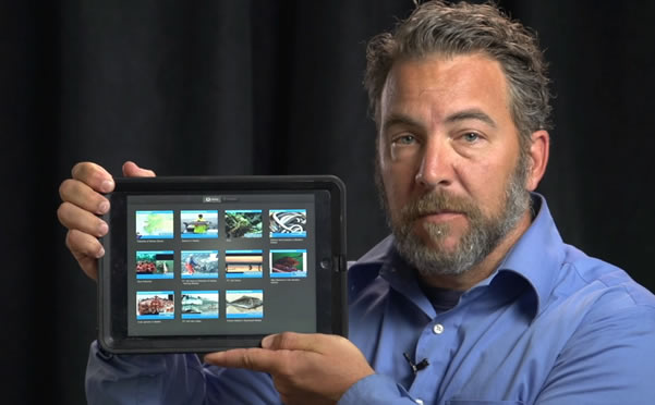 video link - A Course in an iPad
